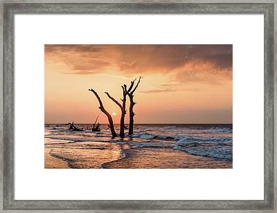 Sun Is Up Framed Print