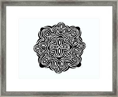 Sun King Framed Print