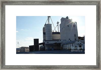 Sun Kiss The Ol Mill   # Framed Print by Rob Luzier