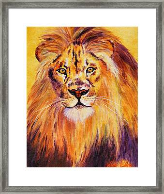 Sun Kissed Boy Framed Print by Wendi Matson