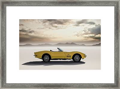 Sun Kissed Framed Print