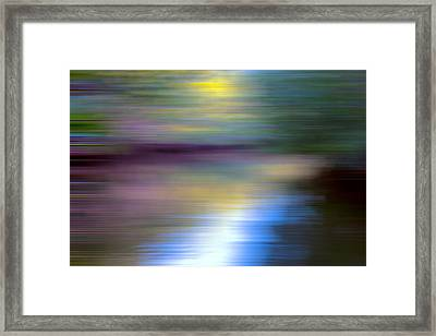 Sun Kissed Planet Framed Print