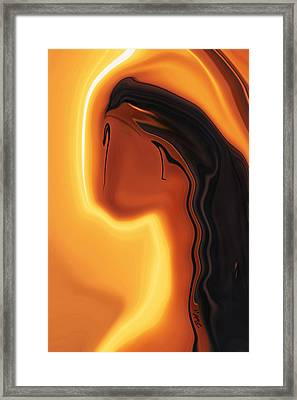 Sun-kissed Framed Print by Rabi Khan