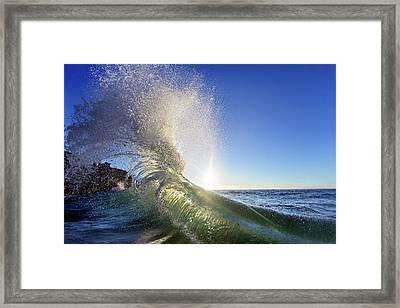 Sun Kissed Framed Print by Sean Davey