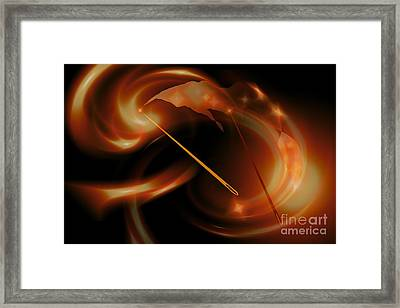 Sun Needles Framed Print