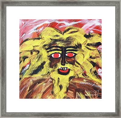 Sun Of Man Framed Print