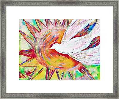 Healing Wings Framed Print