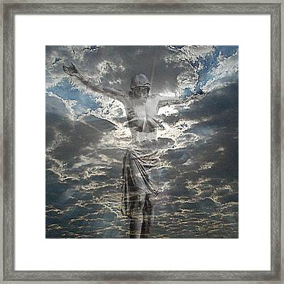 Sun Of Righteousness Framed Print