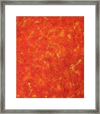 Sun Framed Print by Pamela Rys