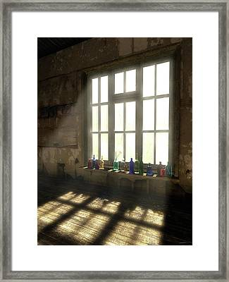Sun Patch Framed Print