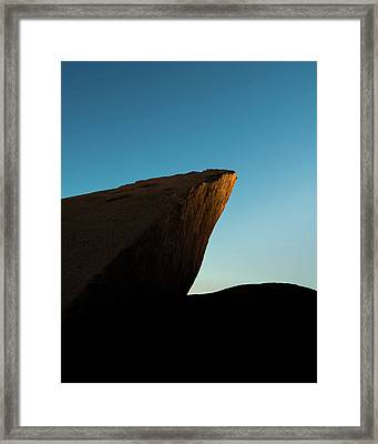 Sun Point Framed Print by Joseph Smith