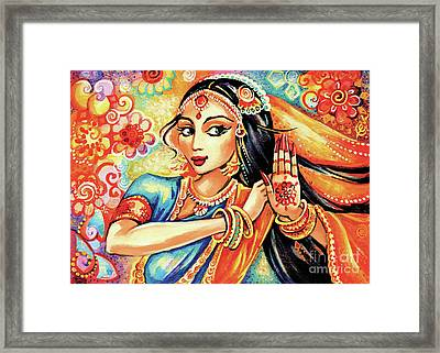 Sun Ray Dance Framed Print by Eva Campbell