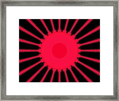 Sun Rays Framed Print by Thomas Smith