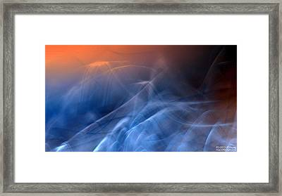Sun Rise Sun Set Above Framed Print by JCYoung MacroXscape