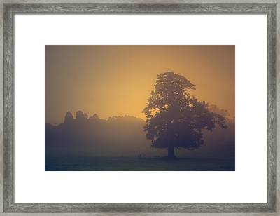 Sun Rising Framed Print by Chris Fletcher