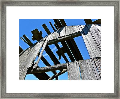 Sun Roof Framed Print