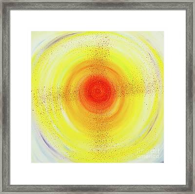 Sun Salutations Framed Print