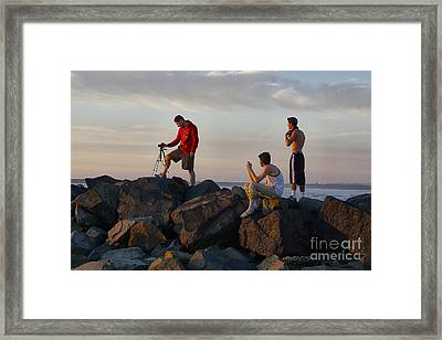 Sun Set Shooters Framed Print