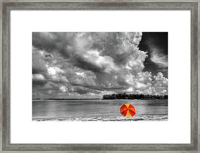 Sun Shade Framed Print