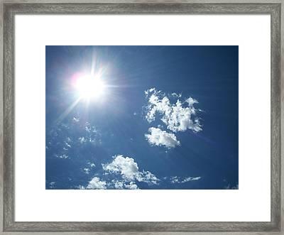 Sun Shine Framed Print by Trenton Heckman