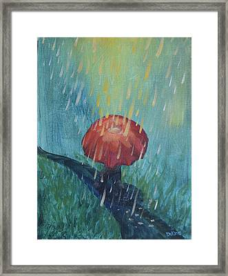 Sun Showers Framed Print