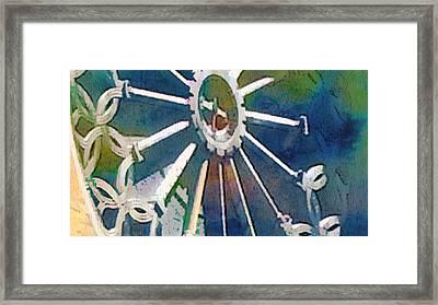 Sun Smile Framed Print