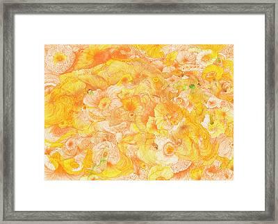 Sun - #ss16dw022 Framed Print by Satomi Sugimoto
