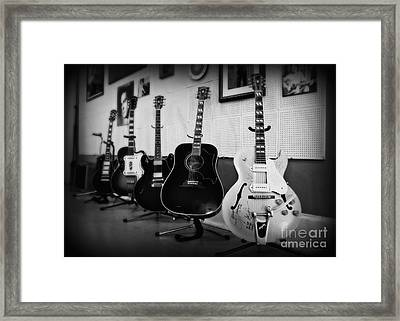 Sun Studio Classics 2 Framed Print by Perry Webster