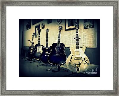 Sun Studio Classics Framed Print by Perry Webster