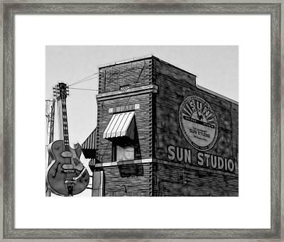 Sun Studio Collection Framed Print by Marvin Blaine