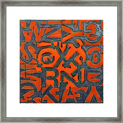 Sun Talk Framed Print by Jason Messinger