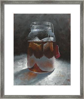 Sun Tea Framed Print by Timothy Jones