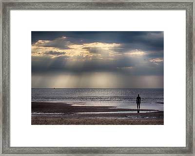 Sun Through The Clouds 2 5x7 Framed Print