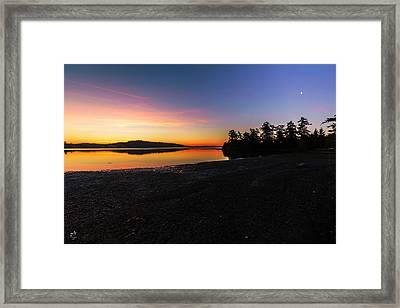 Sun Up Moon Down Framed Print by Thomas Ashcraft
