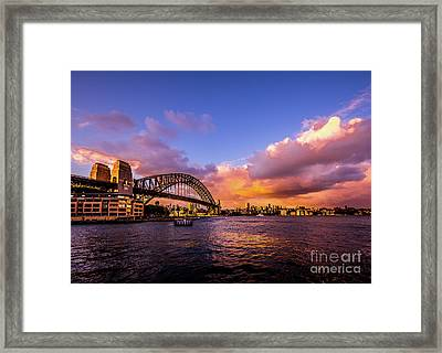 Framed Print featuring the photograph Sun Up by Perry Webster