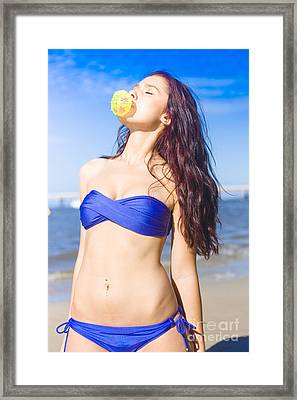 Sun Worshiper Framed Print by Jorgo Photography - Wall Art Gallery