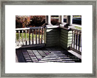 Framed Print featuring the photograph Sun Writ by Betsy Zimmerli