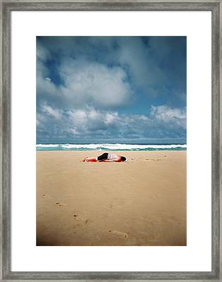 Sunbather Framed Print