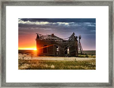 Sunbeam Light Framed Print