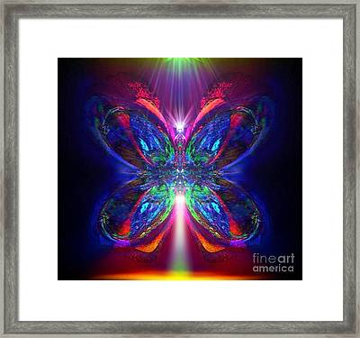 Sunbeam Pearwhistle Framed Print