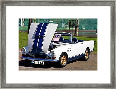 Sunbeam Tiger Framed Print