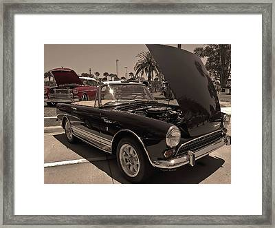Sunbeams On A Sunbeam Framed Print by DigiArt Diaries by Vicky B Fuller