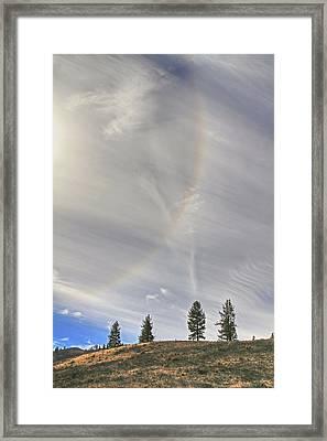 Sunbow Framed Print