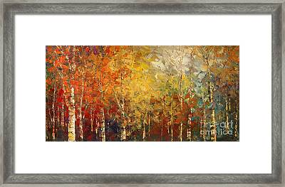 Sunburnt Caravan Framed Print by Tatiana Iliina