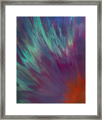 Sunburst Aura Framed Print