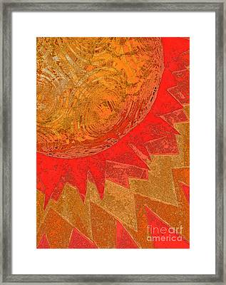 Sunburst By Jammer  And Jrr Framed Print by First Star Art
