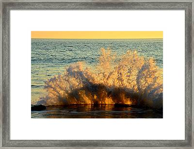 Sunburst Framed Print