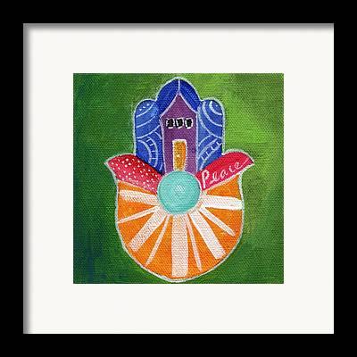 Hamsa Framed Prints