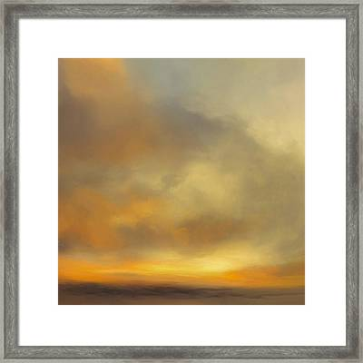 Sunburst Framed Print by Lonnie Christopher