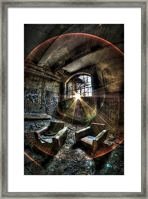 Sunburst Sofas Framed Print by Nathan Wright